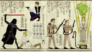 papyrus star wars sos fantomes