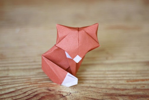 diy_petit_renard_en_papier_origami