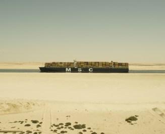 bateau desert