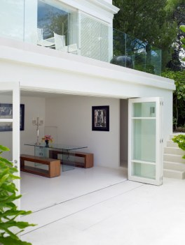 maison baie vitree