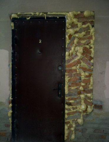 recomposition mur mousse brique