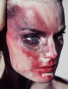 visage peinture