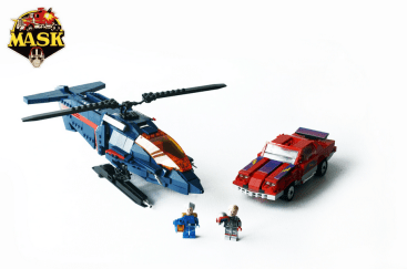 M.A.S.K Thunderhawk vs. Switchblade