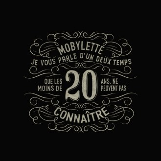 mobylette 20 ans