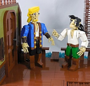 lego monkey island largo