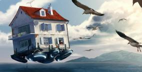 maison volante