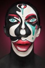 masque visage peinture