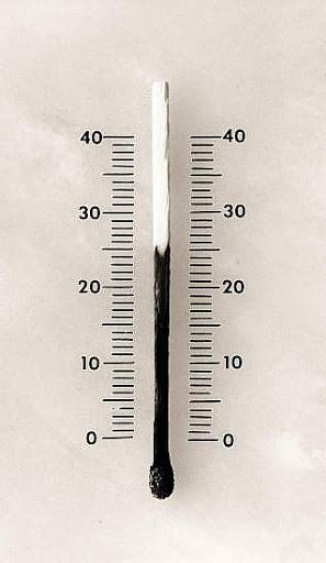 alumette temperature