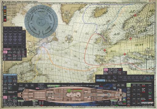 carte jeu plateau sous marin hunters