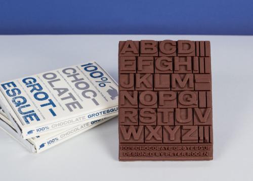 chocolat alphabet