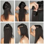 clip in hair extensions tape