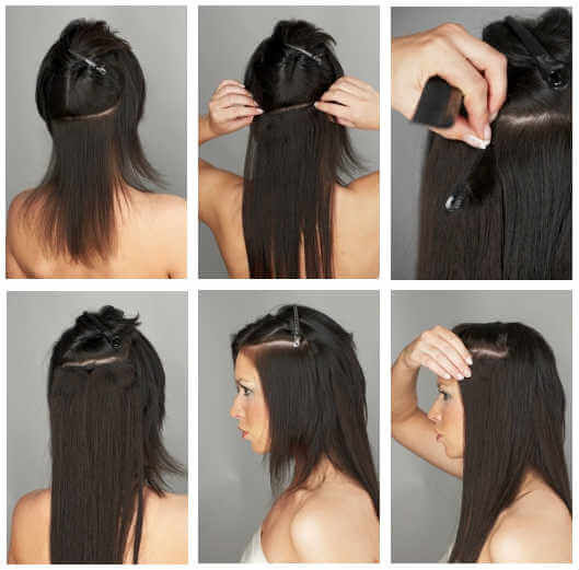 Luxy hair clip in extensions image collections hair extension how to put clip in hair extensions short the best hair 2017 how long do hair pmusecretfo Image collections