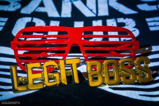 Sasha Banks Legit Boss Rings And Red Shades