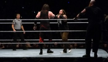 Roman Reigns & Dean Ambrose vs League of Nations – WWE Live
