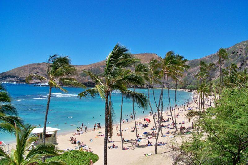 Hawaje - wyspa Oahu