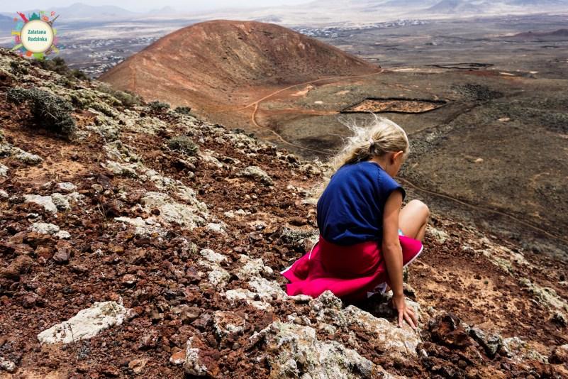 droga na wulkan fuerteventura