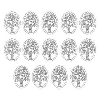 Black Hills Gold Birthstone Family Tree Pendant/Brooch in