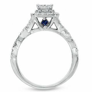 Vera Wang Love Collection 1 CT TW PrincessCut Diamond