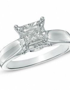princess cut diamond engagement ring in  white gold also ct rh zales