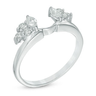 38 CT TW Marquise Diamond Solitaire Enhancer In 14K