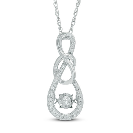 Unstoppable Love™ 1/5 CT. T.W. Diamond Infinity Knot