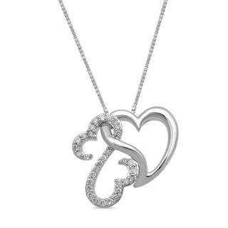 Open Hearts by Jane Seymour™ 1/5 CT. T.W. Diamond