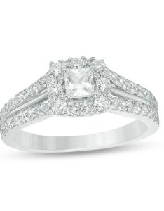 Love   destiny by zales ct   certified princess cut diamond engagement ring in also rh
