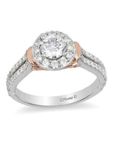 diamond frame collar engagement ring in  two also enchanted disney cinderella ct rh zales