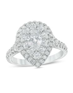 Love   destiny by zales ct   certified pear shaped also diamond rh