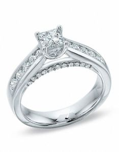 princess cut diamond engagement ring in  also ct white rh zalesoutlet