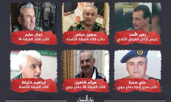"""الأسد يزيد الطائفية لدى """"الحرس الجمهوري"""" و """"الفرق المدرعة"""" والفيلق بتعيينات جديدة (صور)"""