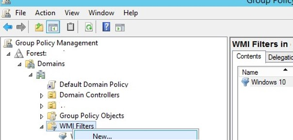 Restricting Group Policy with WMI Filtering – zamarax com – Corey Zamara