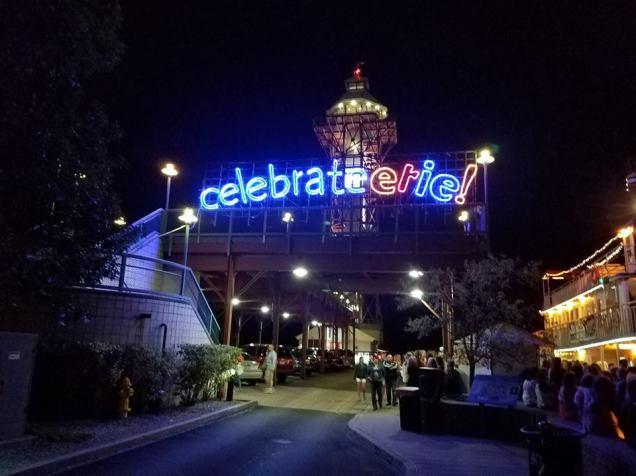 Celebrate Erie Set Piece