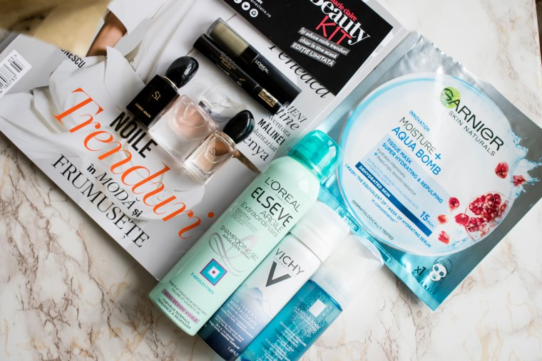 beauty kit Marie Claire februarie