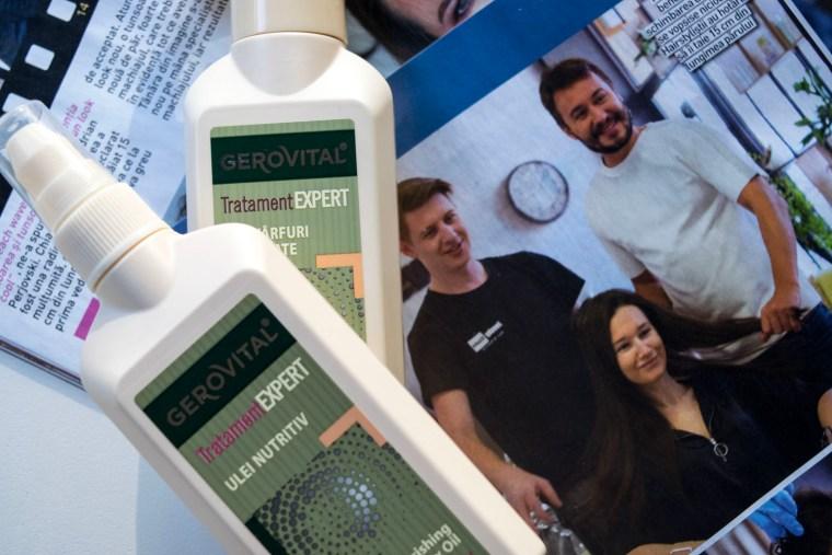 Îngrijirea părului cu Gerovital Tratament Expert
