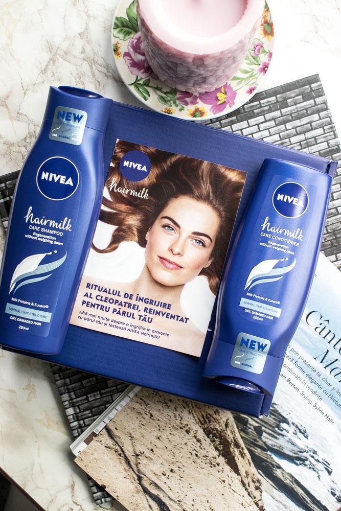 Noua gamă NIVEA HairMilk
