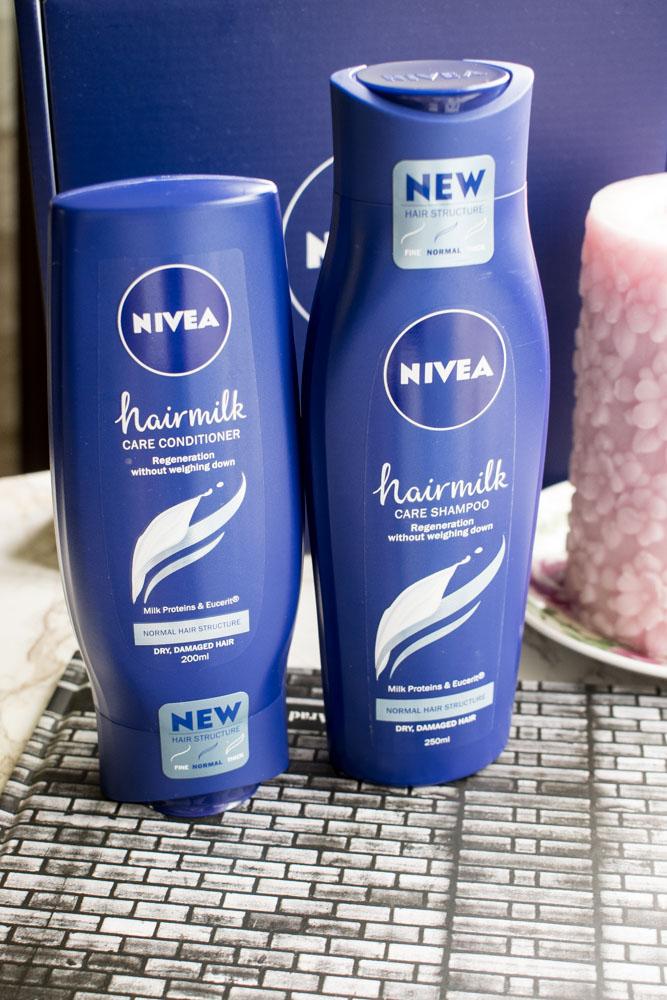 nivea hairmilk zambet gratis blog