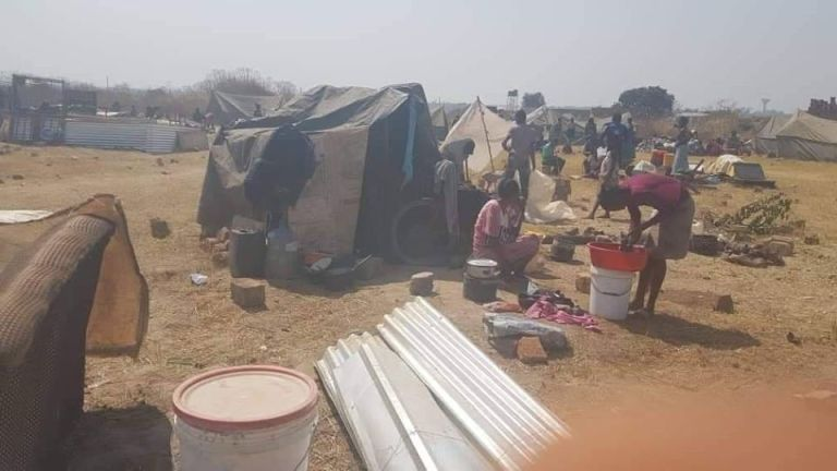 WE ARE ZAMBIANS TOO HELP US PLEASE WE HAVE NOWHERE TO GO, CRIES THE DISPLACED PEOPLE OF LUYANDO IN MINDOLO KITWE