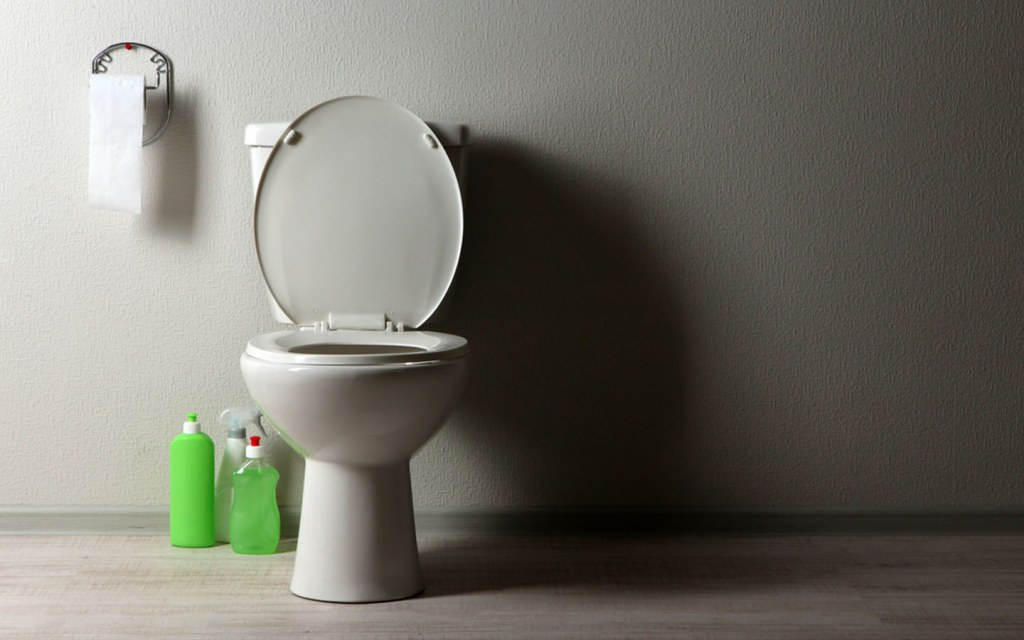 keep your bathroom bacteria-free with the help of disinfectants