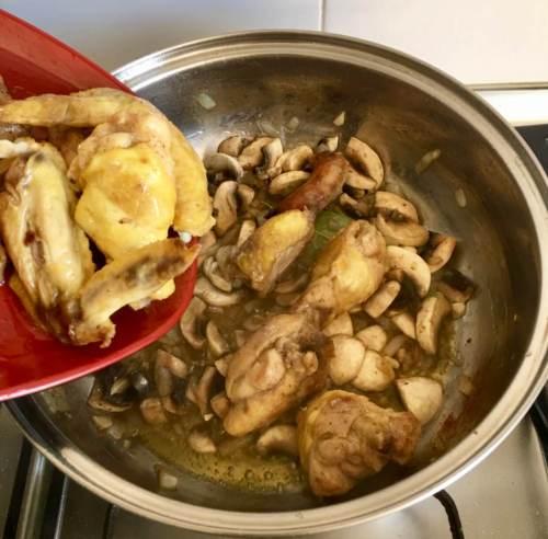 Receta casera con pollo de corral