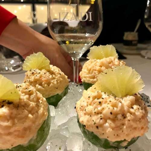 Restaurante Bibo Madrid con vinos Izadi