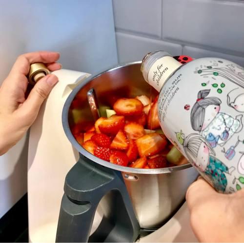Gazpacho con fresas y aove