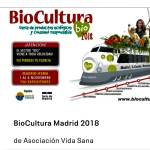 BIOCULTURA MADRID 2018, DEL 1 AL 4 DE NOVIEMBRE