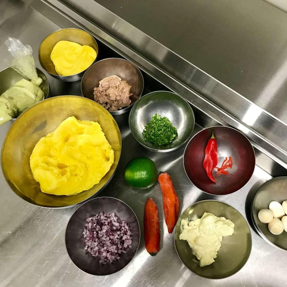 Ingredientes para hacer la receta de causa limeña
