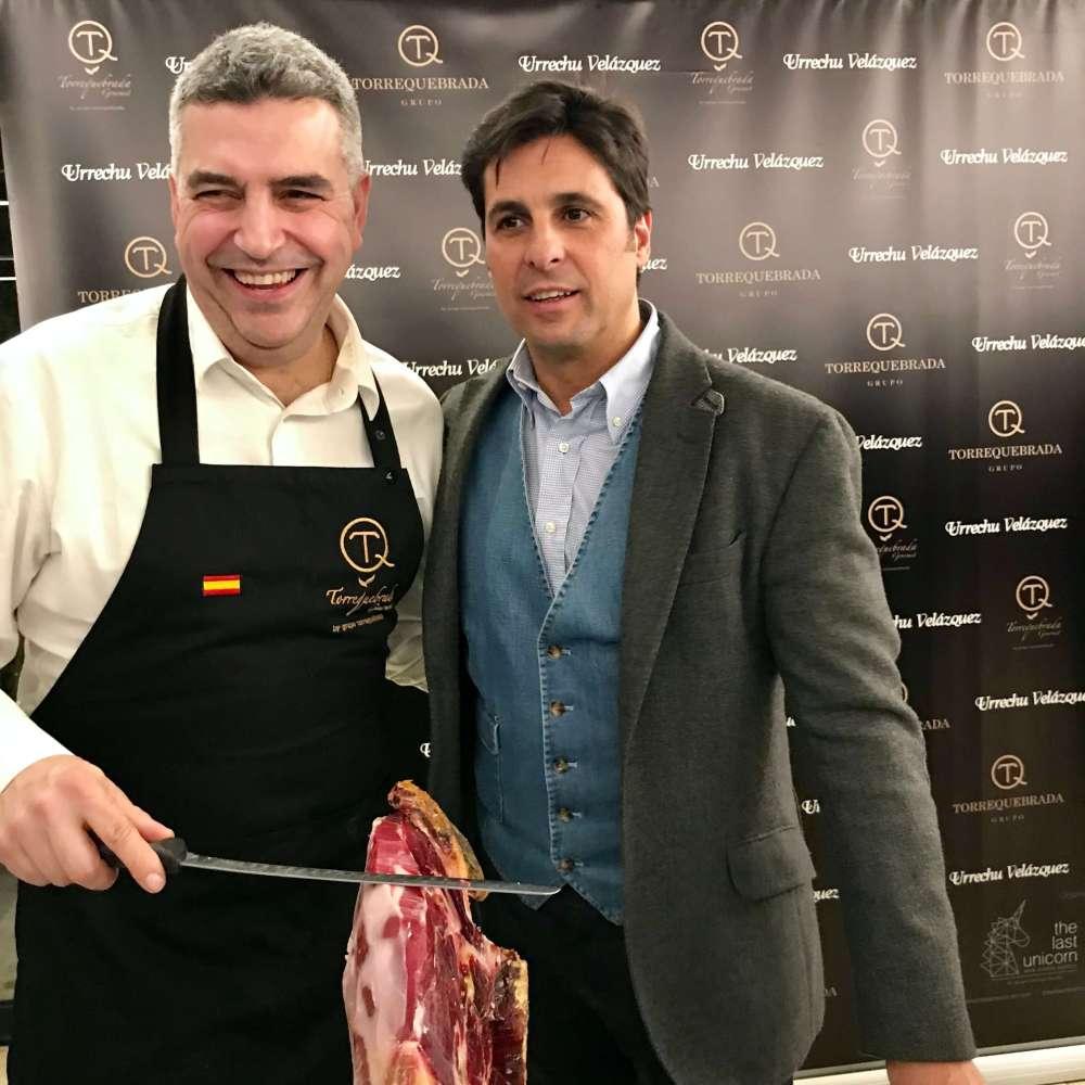 Torrequebrada Gourmet con Carlos barriga y Fran Rivera