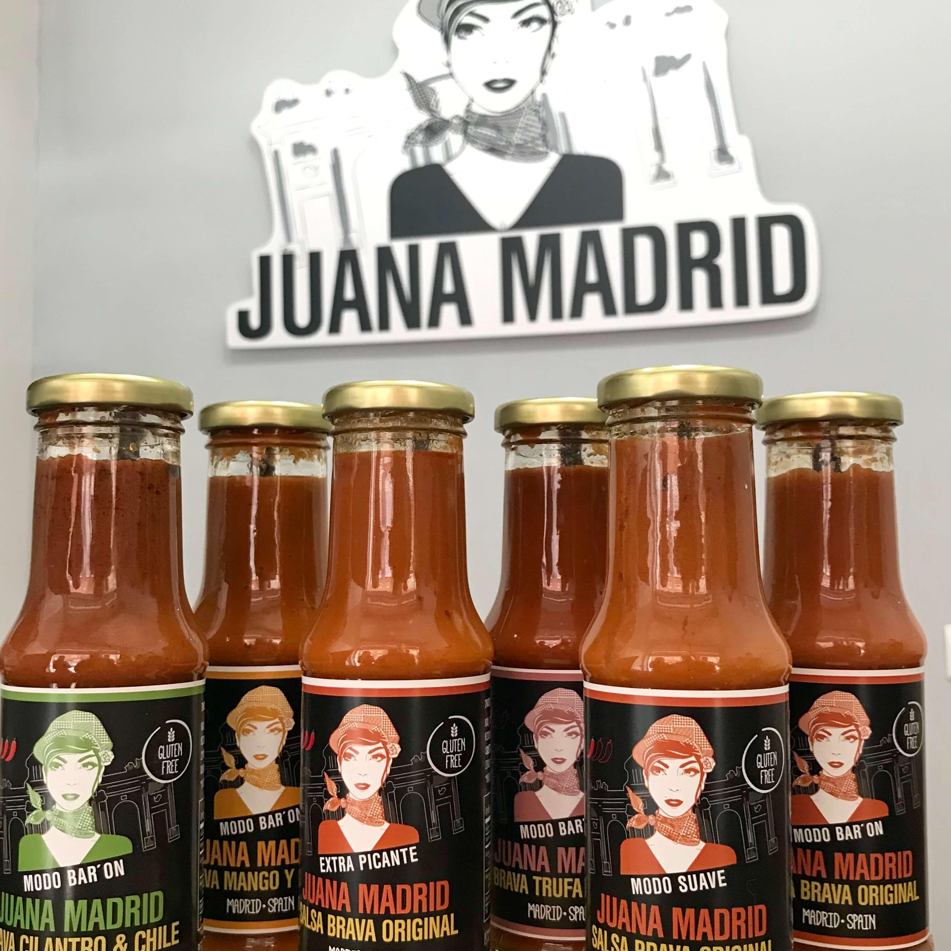 Juana Madrid, Salsa brava