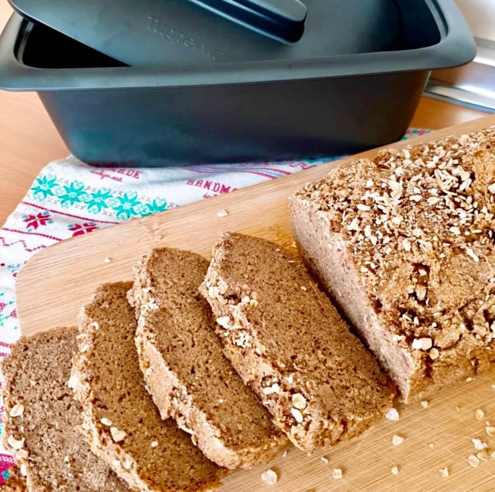 Pan alemán de centeno, receta fácil