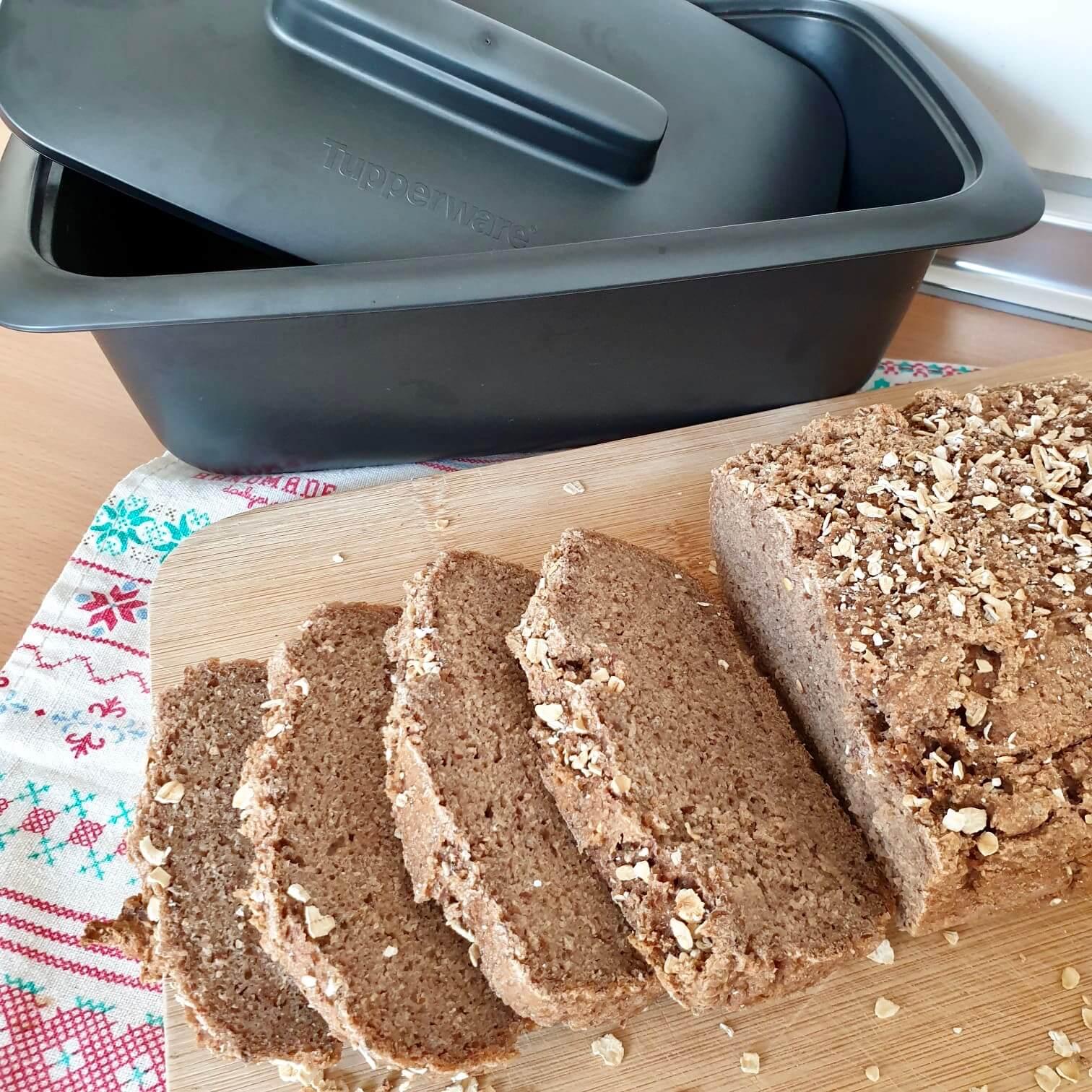 Pan alemán de centeno, receta