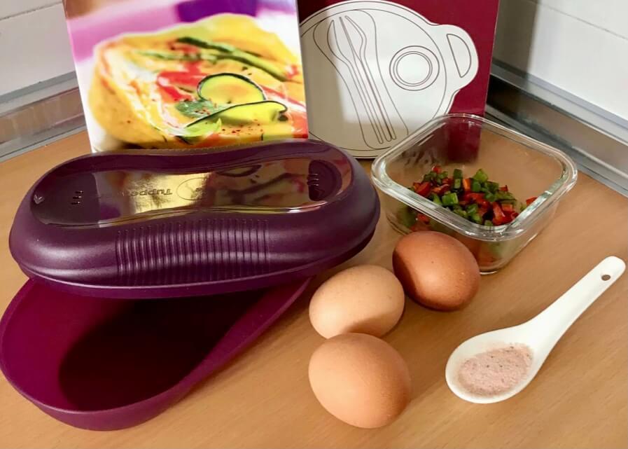 Recetas de huevos con Tortilla Maker de Tupperware