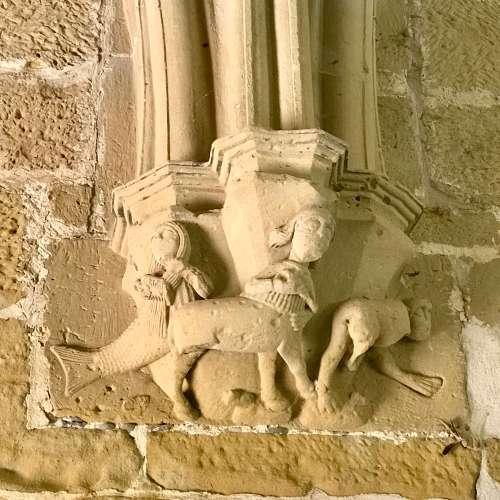 Detalles en el Monasterio de la Oliva